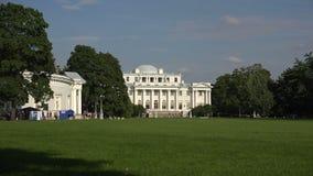 Παλάτι Elagin στη Αγία Πετρούπολη 4K απόθεμα βίντεο