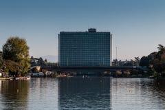 Παλάτι Enrico Mattei Eni Στοκ φωτογραφίες με δικαίωμα ελεύθερης χρήσης