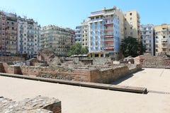 Παλάτι Galerius, Θεσσαλονίκη, Ελλάδα Στοκ φωτογραφία με δικαίωμα ελεύθερης χρήσης