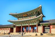 Παλάτι Geyongbokgung Στοκ φωτογραφίες με δικαίωμα ελεύθερης χρήσης