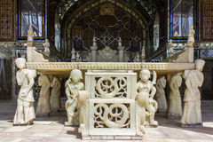 Παλάτι Golestan παγκόσμιων κληρονομιών της ΟΥΝΕΣΚΟ στην Τεχεράνη, Ιράν Στοκ Εικόνες