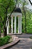 Παλάτι Gomel και σύνολο πάρκων, gazebo Στοκ εικόνες με δικαίωμα ελεύθερης χρήσης