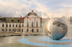 Παλάτι Grassalkovich, Μπρατισλάβα, Σλοβακία Στοκ Φωτογραφίες
