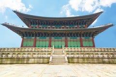 Παλάτι Gyeongbokgung στη Σεούλ, Νότια Κορέα Στοκ Εικόνες