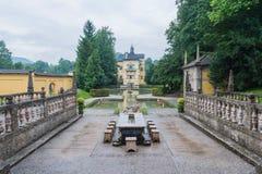 Παλάτι Hellbrunn, κοντά στο Σάλτζμπουργκ, Αυστρία στοκ εικόνες με δικαίωμα ελεύθερης χρήσης