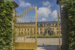 Παλάτι Herrenhausen, Αννόβερο στοκ φωτογραφία με δικαίωμα ελεύθερης χρήσης