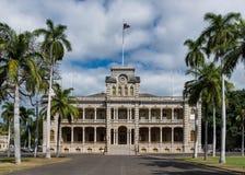 Παλάτι Iolani στοκ εικόνα με δικαίωμα ελεύθερης χρήσης