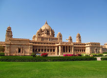 Παλάτι Jodhpur Bhawan Umaid στοκ εικόνα