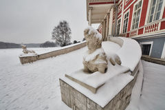 Παλάτι Kuskovo στη Μόσχα Στοκ φωτογραφία με δικαίωμα ελεύθερης χρήσης