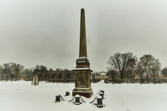 Παλάτι Kuskovo στη Μόσχα Στοκ εικόνα με δικαίωμα ελεύθερης χρήσης