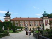 Παλάτι Lancut στοκ εικόνα με δικαίωμα ελεύθερης χρήσης