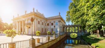 Παλάτι Lazienki, Βαρσοβία, Πολωνία Στοκ εικόνα με δικαίωμα ελεύθερης χρήσης