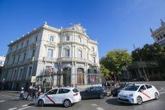 Παλάτι Linares στη Μαδρίτη, Ισπανία Στοκ φωτογραφία με δικαίωμα ελεύθερης χρήσης