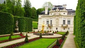 Παλάτι Linderhof. στοκ φωτογραφίες