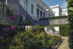 Παλάτι Livadia και πάρκο, Κριμαία Στοκ εικόνες με δικαίωμα ελεύθερης χρήσης