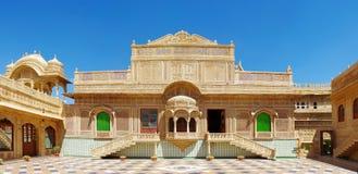 Παλάτι Mandir σε Jaisalmer, βόρεια Ινδία Στοκ Εικόνες