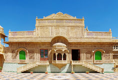 Παλάτι Mandir σε Jaisalmer, βόρεια Ινδία Στοκ εικόνα με δικαίωμα ελεύθερης χρήσης