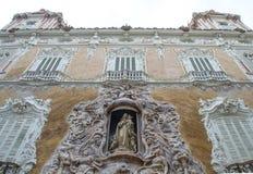 Παλάτι Marquis de DOS Aguas, εθνικό μουσείο Gonzale κεραμικής Στοκ εικόνα με δικαίωμα ελεύθερης χρήσης
