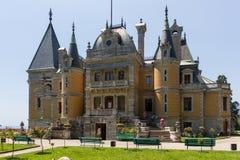 Παλάτι Massandra, κατοικία των ρωσικών αυτοκρατόρων στοκ εικόνες με δικαίωμα ελεύθερης χρήσης