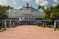 Παλάτι Menshikov, Άγιος Πετρούπολη στοκ φωτογραφία με δικαίωμα ελεύθερης χρήσης