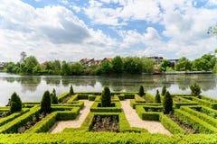 Παλάτι Mogosoaia στη Ρουμανία στοκ φωτογραφίες με δικαίωμα ελεύθερης χρήσης