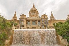 Παλάτι Montjuic, Βαρκελώνη, Ισπανία Στοκ Εικόνες