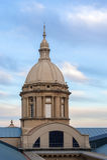 Παλάτι Montjuic, Βαρκελώνη, Ισπανία Στοκ φωτογραφία με δικαίωμα ελεύθερης χρήσης