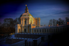 Παλάτι Oranienbaum Στοκ φωτογραφία με δικαίωμα ελεύθερης χρήσης