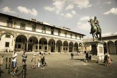 Παλάτι Panciatichi στη Φλωρεντία στοκ φωτογραφία