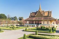 παλάτι penh phnom βασιλικό Στοκ Φωτογραφίες