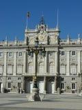 παλάτι pincipal βασιλική δευτερεύουσα Ισπανία της Μαδρίτης Στοκ φωτογραφία με δικαίωμα ελεύθερης χρήσης