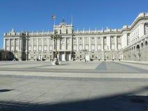 παλάτι pincipal βασιλική δευτερεύουσα Ισπανία της Μαδρίτης Στοκ Φωτογραφία