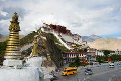 Παλάτι Potala σε Lhasa, Θιβέτ Στοκ φωτογραφία με δικαίωμα ελεύθερης χρήσης