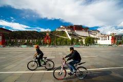 Παλάτι Potala σε Lhasa, Θιβέτ Στοκ εικόνα με δικαίωμα ελεύθερης χρήσης