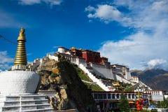 Παλάτι Potala σε Lhasa, Θιβέτ Στοκ φωτογραφίες με δικαίωμα ελεύθερης χρήσης