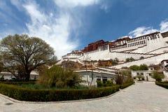 Παλάτι Potala σε Lhasa Στοκ εικόνα με δικαίωμα ελεύθερης χρήσης