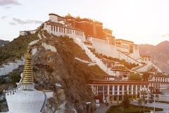Παλάτι Potala, στο Θιβέτ της Κίνας Στοκ φωτογραφία με δικαίωμα ελεύθερης χρήσης