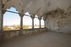 Παλάτι Potlogi του Constantin Brâncoveanu, κομητεία DâmboviÅ£a, Ρουμανία - εσωτερικό Στοκ εικόνα με δικαίωμα ελεύθερης χρήσης