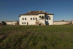 Παλάτι Potlogi του Constantin Brâncoveanu, κομητεία DâmboviÅ£a, Ρουμανία - πλευρική άποψη Στοκ Εικόνες