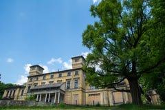 Παλάτι Potocki σε Krzeszowice (Πολωνία) Στοκ Φωτογραφίες