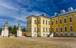 Παλάτι Rundale Στοκ φωτογραφία με δικαίωμα ελεύθερης χρήσης
