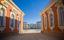 Παλάτι Rundale στοκ εικόνα