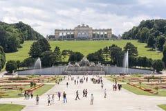 παλάτι schonbrunn Βιέννη της Αυστρία Στοκ εικόνα με δικαίωμα ελεύθερης χρήσης