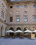 Παλάτι Schwarzenberg, Πράγα, Δημοκρατία της Τσεχίας Στοκ εικόνες με δικαίωμα ελεύθερης χρήσης