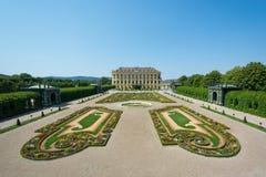 Παλάτι sideview Βιέννη Schönbrunn Στοκ φωτογραφία με δικαίωμα ελεύθερης χρήσης
