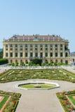 Παλάτι sideview Βιέννη Schönbrunn Στοκ Φωτογραφία
