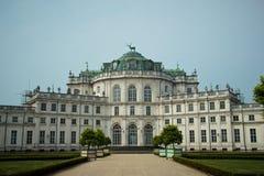 Παλάτι Stupinigi κοντά στο Τορίνο στοκ εικόνες