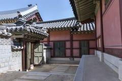 Παλάτι Suwon στοκ εικόνα