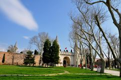 Παλάτι Topkapi στοκ εικόνα
