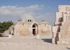 Παλάτι Umayyad στοκ φωτογραφία